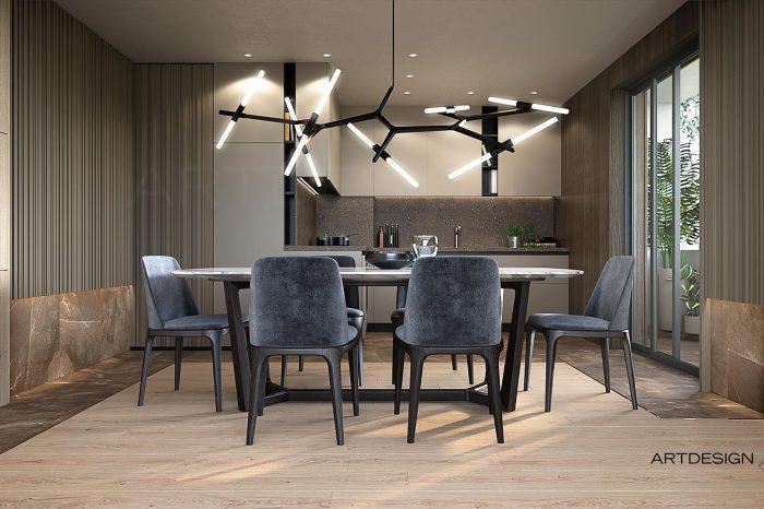 интериорен дизайн на апартамент във Варна