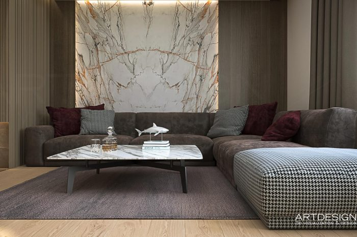 интериорен дизайн на апартамент в Варна