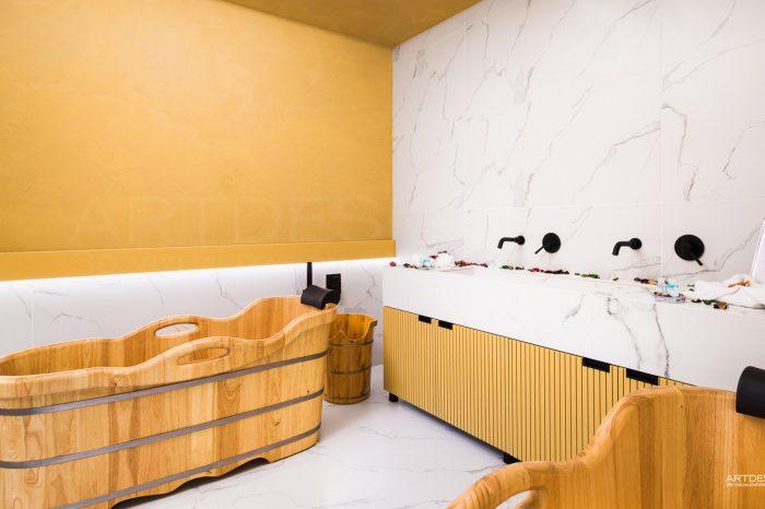 Дизайн на Спа център в Хотел Перелик Пампорово