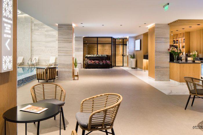 Дизайн на Спа център в Хотел Перелик